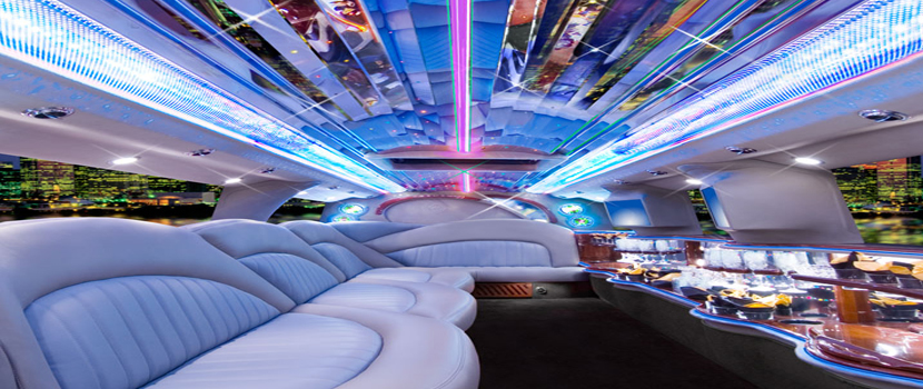 Interior Chrysler Stretch Limo