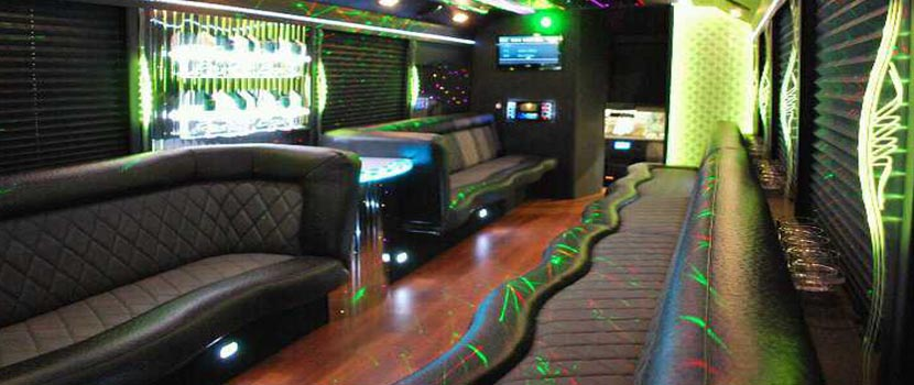 27pax Party Bus Interior Lighting