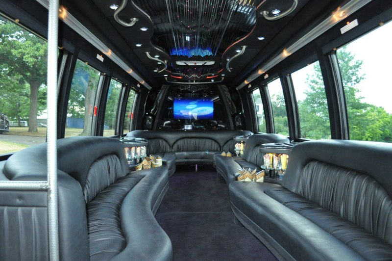28-30 Pax Party Bus Interior