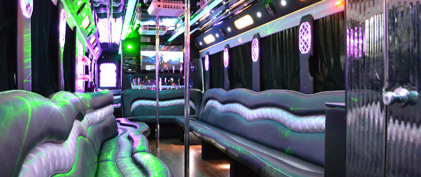 VIP Party Bus Interior Design