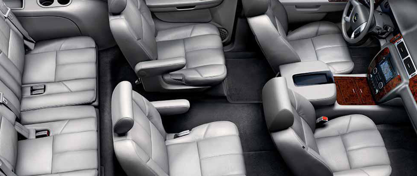 Luxury Suv Limo seats