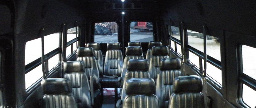 14 pax Mercedes Sprinter Van Luxury Seats
